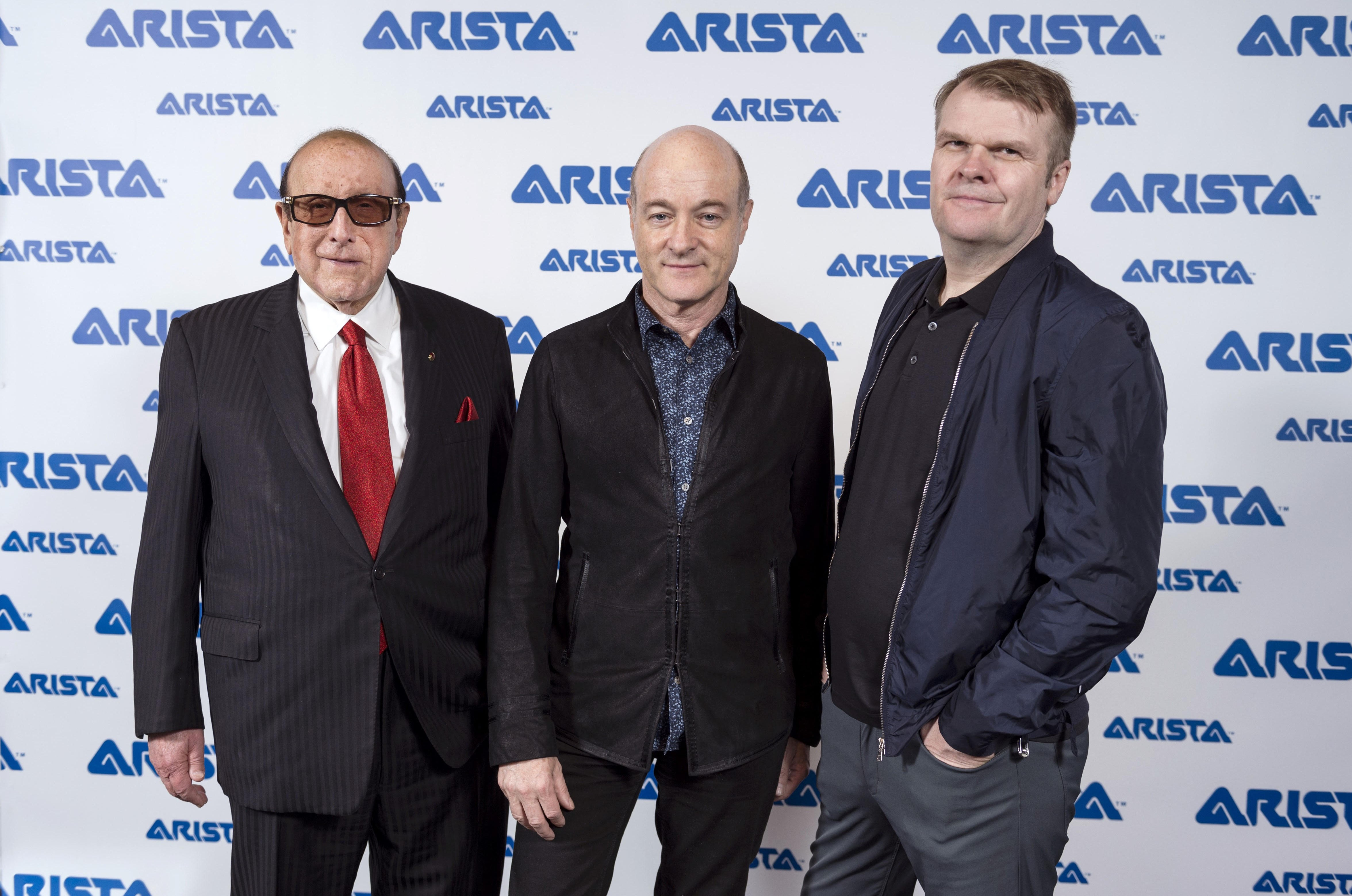Clive Davis, David Massey and Rob Stringer