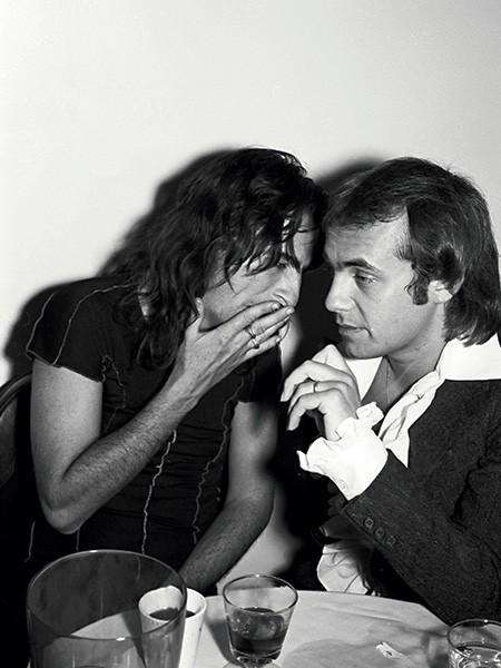 Alice Cooper and Bernie Taupin