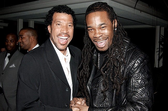 Lionel Richie and Busta Rhymes