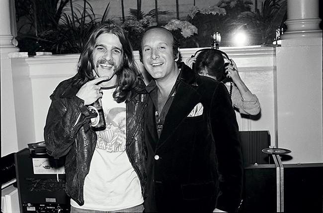 Glenn Frey and Clive Davis