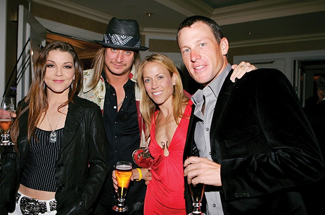 Gretchen Wilson, Kid Rock, Sheryl Crow and Lance Armstrong
