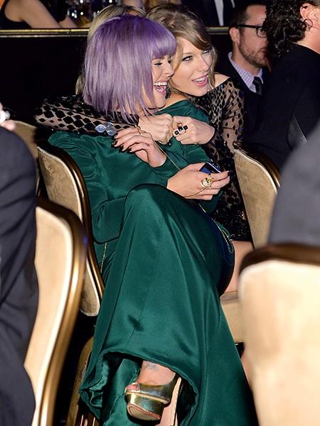 Kelly Osbourne and Taylor Swift