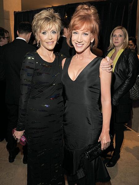Jane Fonda and Kathy Griffin
