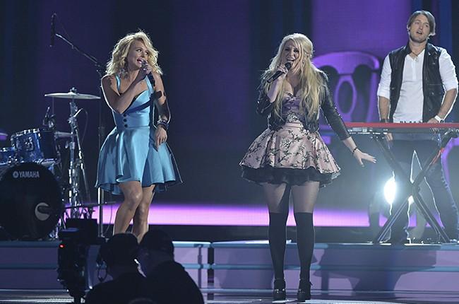 Miranda Lambert and Meghan Trainor