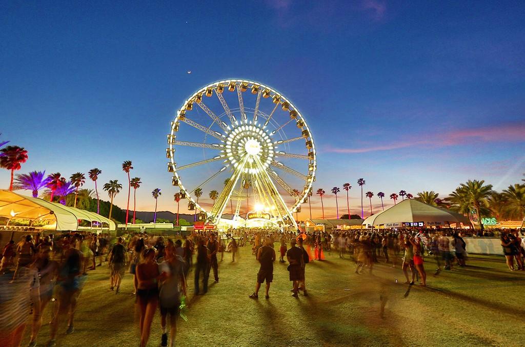 Coachella Valley Music & Arts Festival at the Empire Polo Club in Indio, Calif.