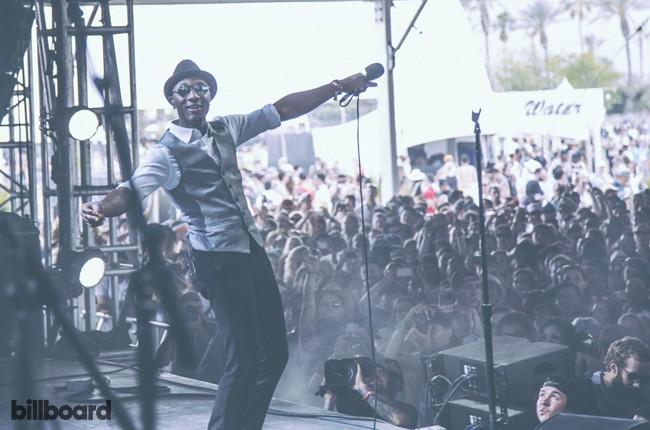 Aloe Blacc at Coachella 2014