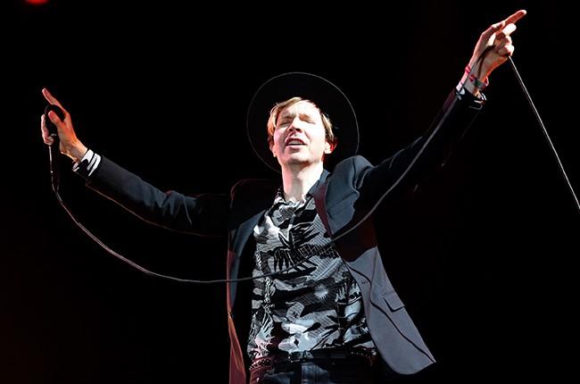 Beck at Coachella 2014