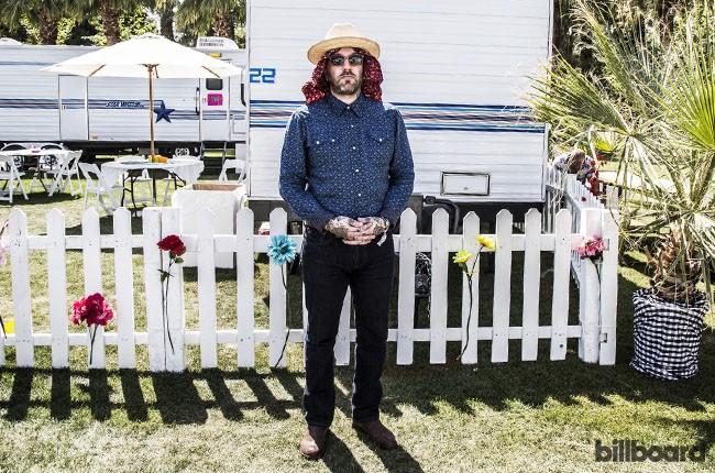 Dallas Green of City and Colour at Coachella 2014