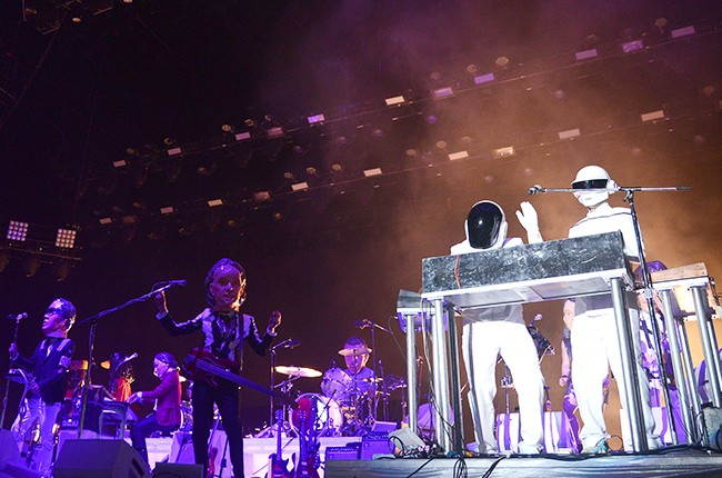 Daft Punk and Arcade Fire at Coachella 2014