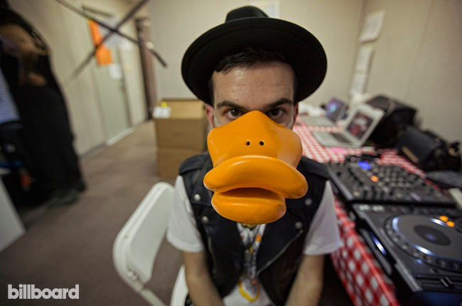 Duck Sauce at Coachella 2014, day in the life