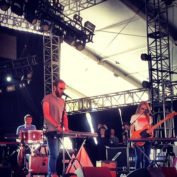 James V McMorrow at Coachella 2014