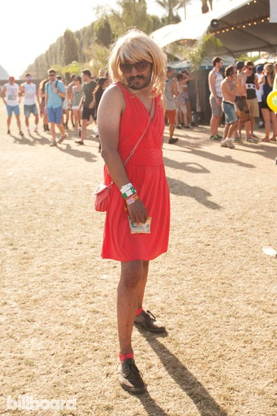 Yousef Ahmed from Long Beach, CA at Coachella 2014