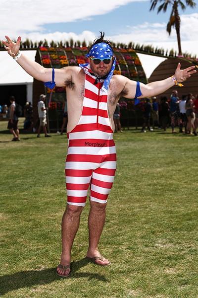 Music fans at Coachella 2014