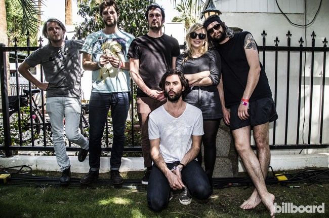 The Head and The Heart backstage at Coachella 2014