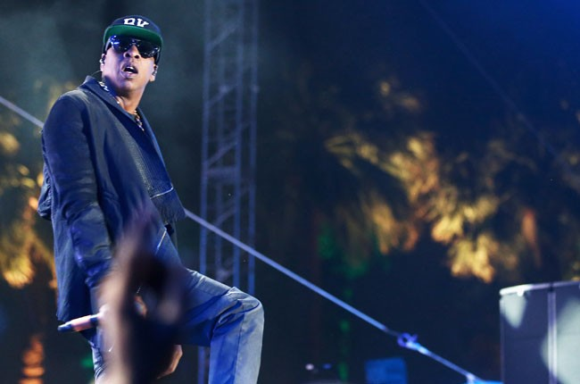 Jay Z performs at Coachella 2014