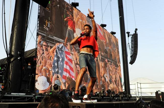 Kid Cudi performs at Coachella 2014