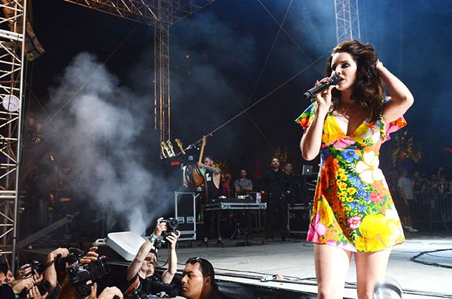 Lana Del Rey at Coachella 2014