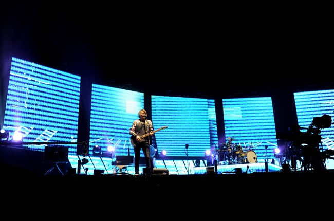 Muse performs at Coachella 2014