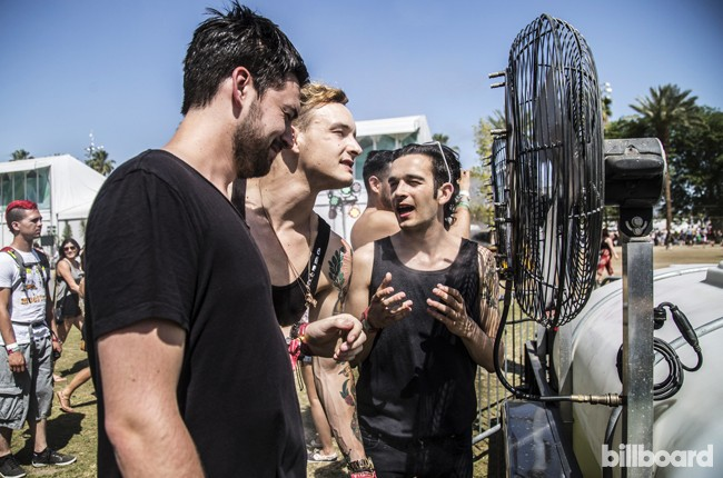 Coachella 2014 Day in the Life: The 1975