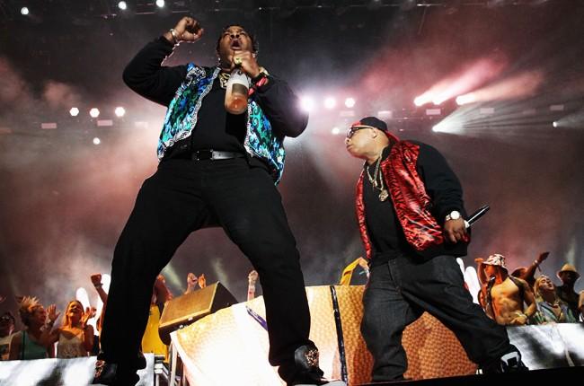 Busta Rhymes at Coachella 2014