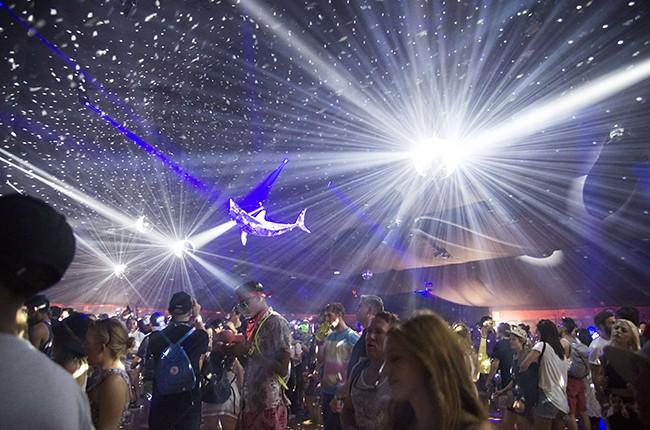 Coachella Yuma Tent