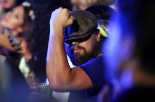 Leonardo DiCaprio Coachella Day 3