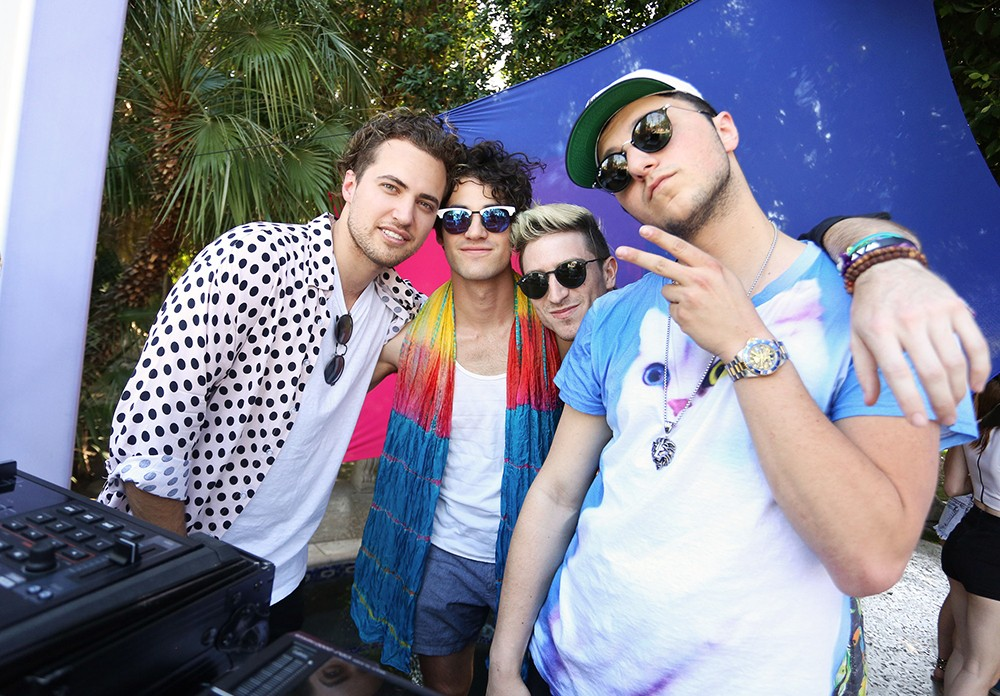 coachella-2016-Kevin-Ray-Darren-Criss-Nick-Petricca-and-Prince-Fox