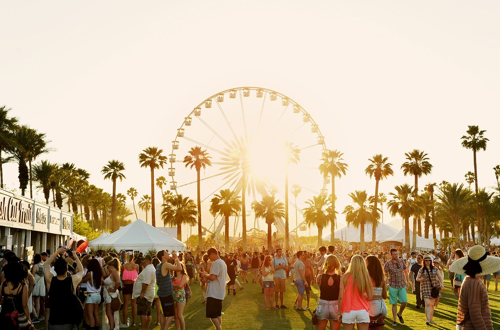 Day 1 of the 2014 Coachella Valley Music & Arts Festival at the Empire Polo Club on April 11, 2014 in Indio, Calif.