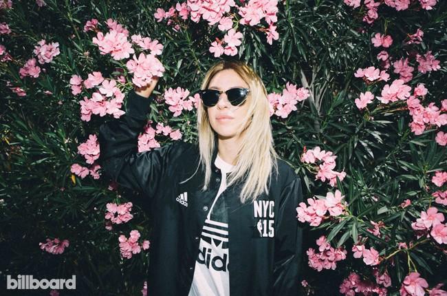 Alison Wonderland at Billboard Studio at Coachella 2015