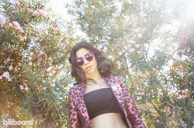 Marina and the Diamonds at Billboard Studio at Coachella 2015