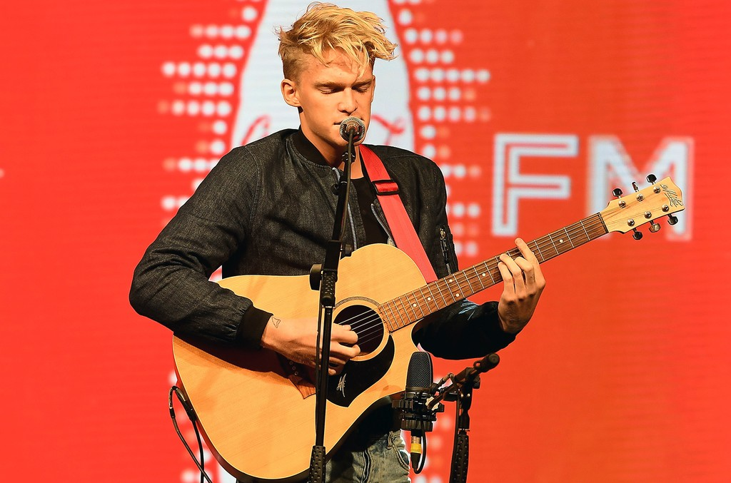 Cody Simpson performs  at the #ThatsGold Coca-Cola experience at Olympic Boulevard on Aug. 8, 2016 in Rio de Janeiro, Brazil.