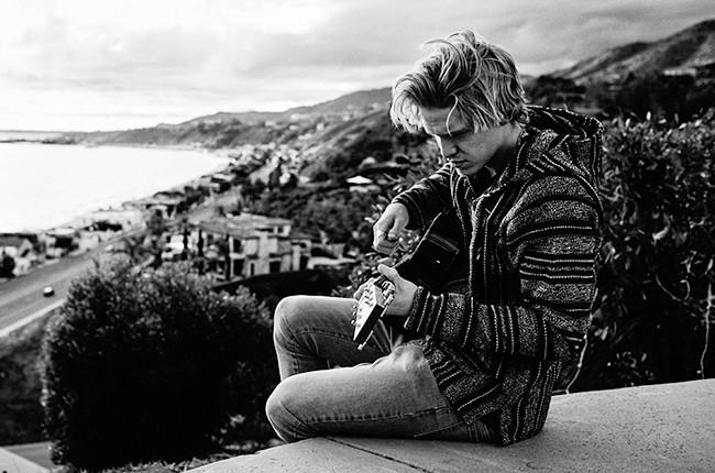 Cody Simpson photographed in Malibu in 2015.