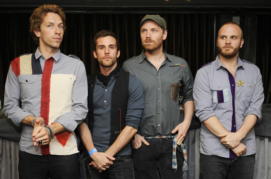 Coldplay 2008