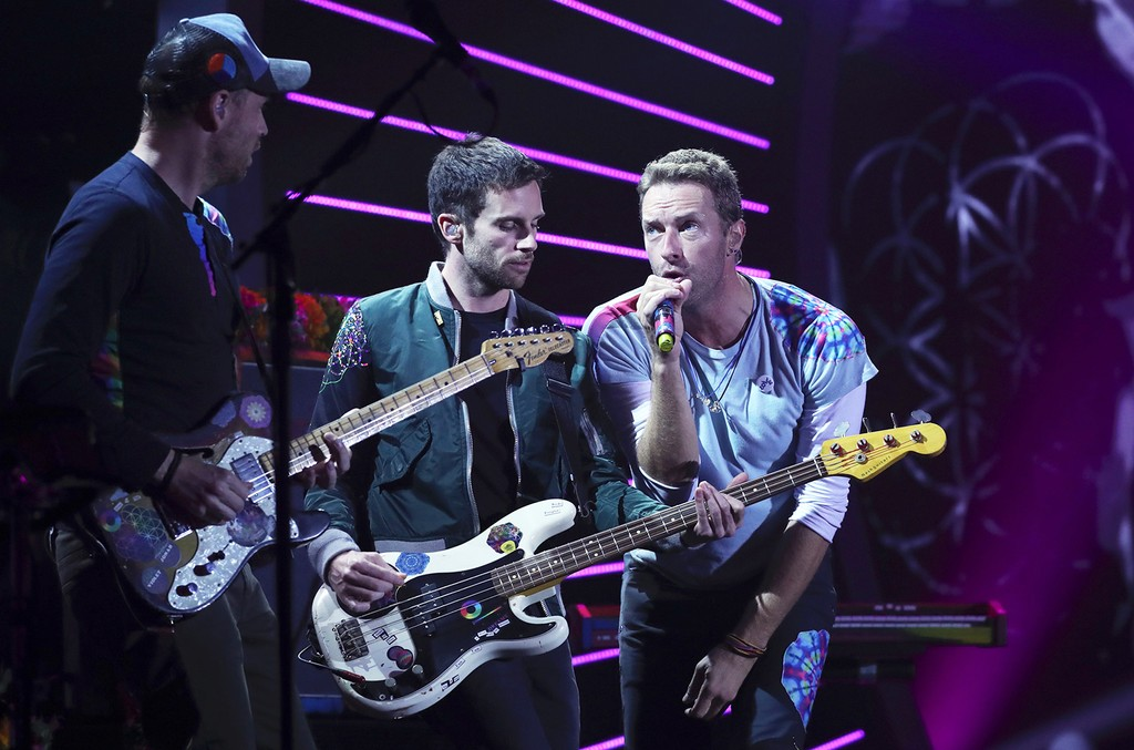Coldplay, Global Citizen Festival