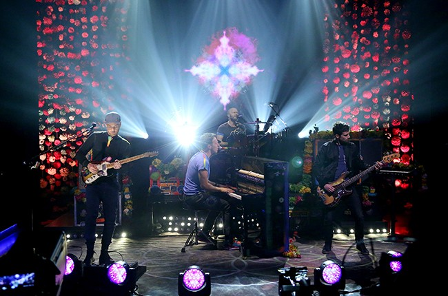 Coldplay The Tonight Show Starring Jimmy Fallon 2016