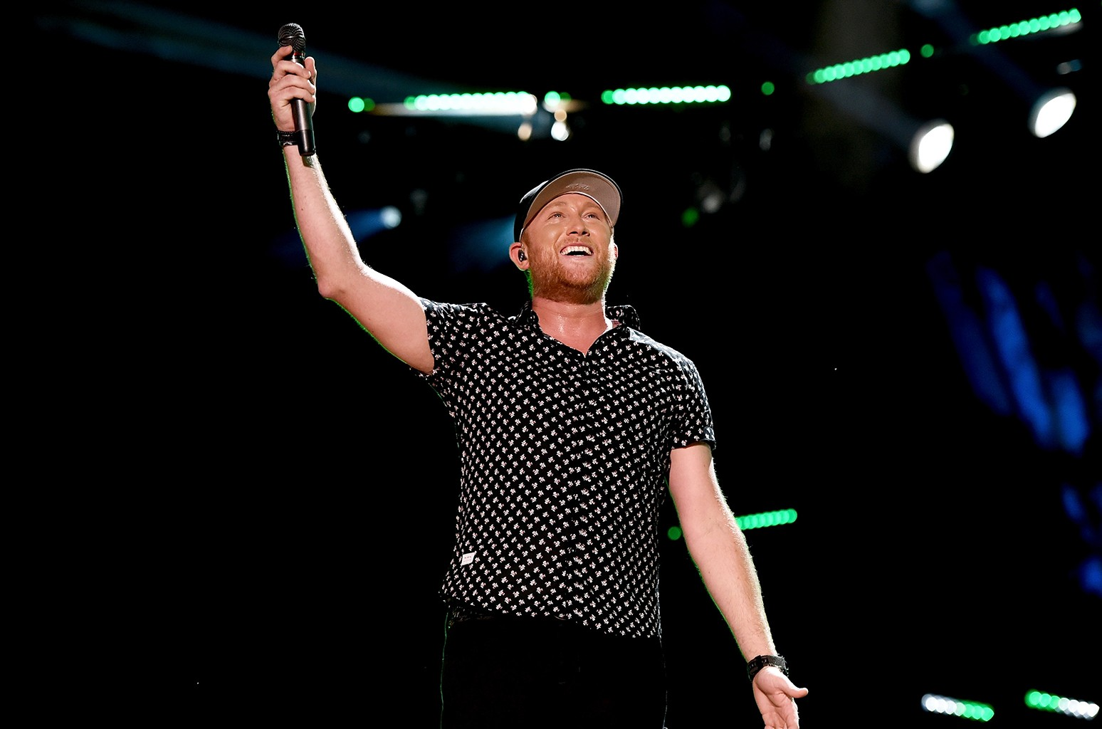 Cole Swindell performs during 2016 CMA Festival