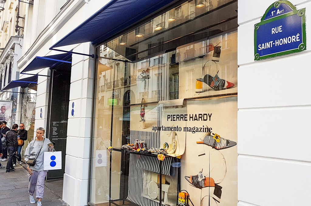 A general view at the 'Colette' store on April 14, 2017 in Paris, France.