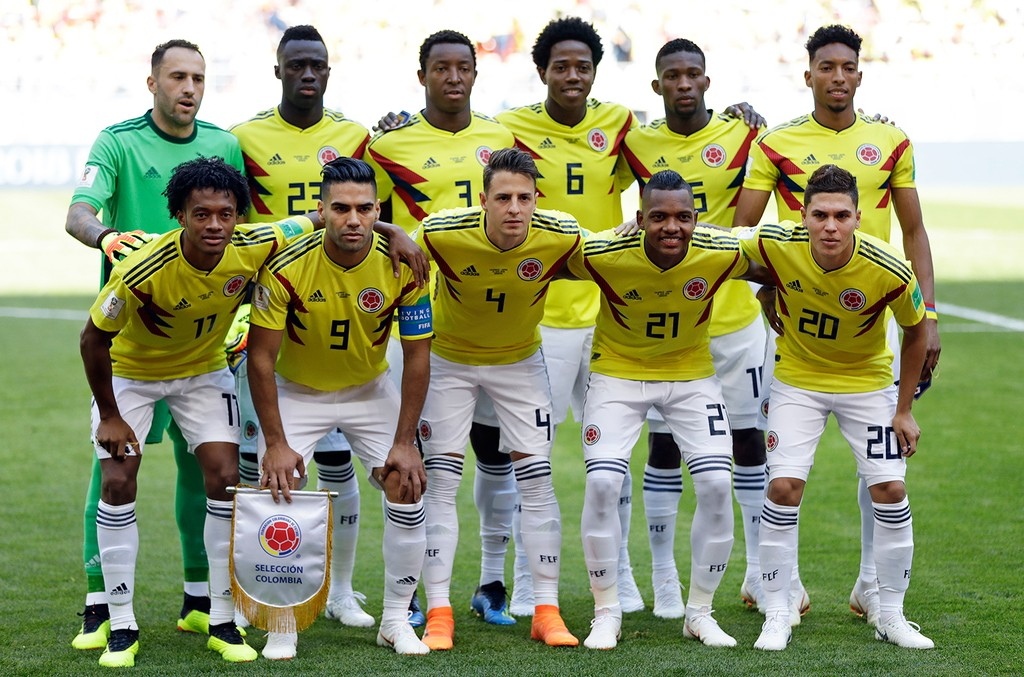 Colombian Soccer Team