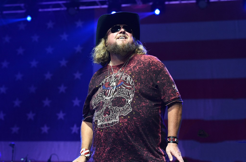 Colt Ford performs at the Charlie Daniels' 2015 Volunteer Jam at Bridgestone Arena on Aug. 12, 2015 in Nashville, Tenn.