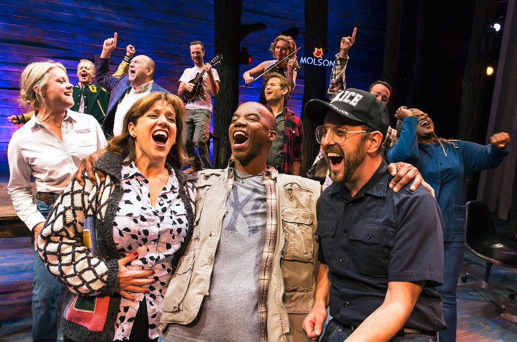 The cast of 'Come From Away.'
