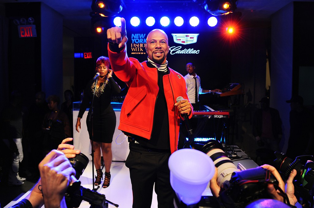 Common performs at the CFDA x Cadillac House