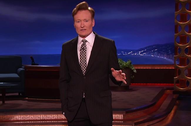 Conan O'Brien 2016