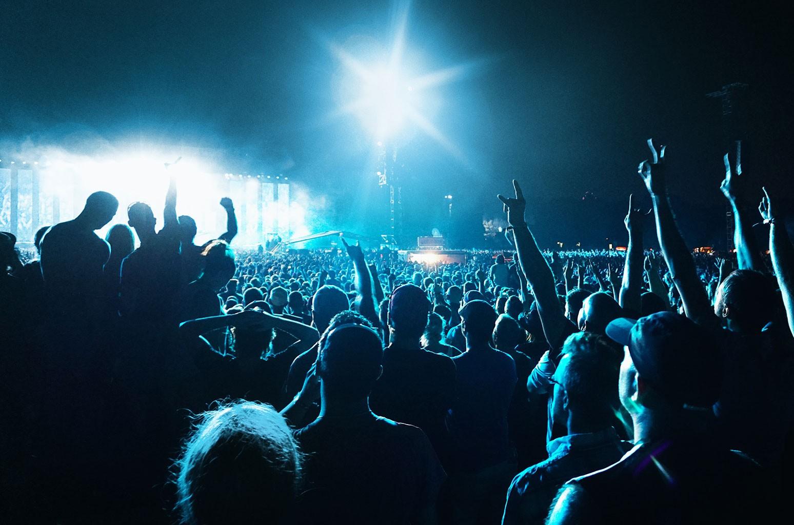 Concert Audience Crowd Atmosphere