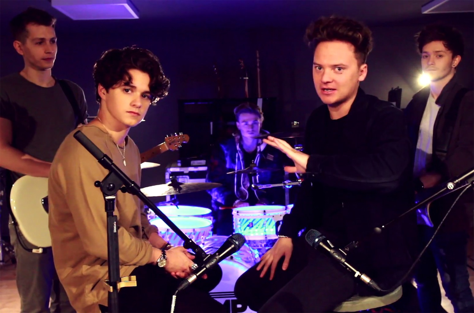 Conor Maynard and The Vamps