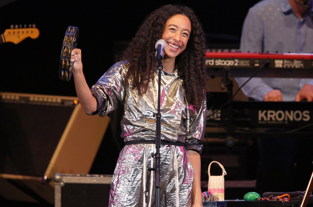 Corinne Bailey Rae performs during the 2017 Playboy Jazz Festival Day  at Hollywood Bowl in Los Angeles.