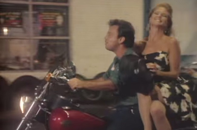 "Billy Joel and Christie Brinkley, ""Uptown Girl"""