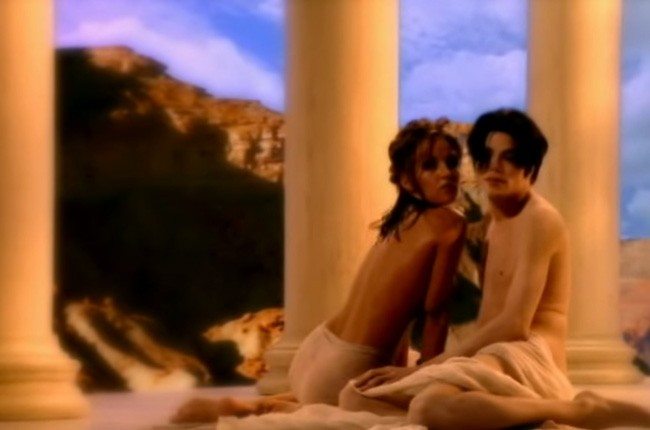"Michael Jackson and Lisa Marie Presley, ""You Are Not Alone"""