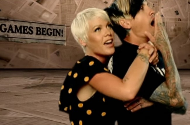"Pink and Carey Hart, ""So What"""