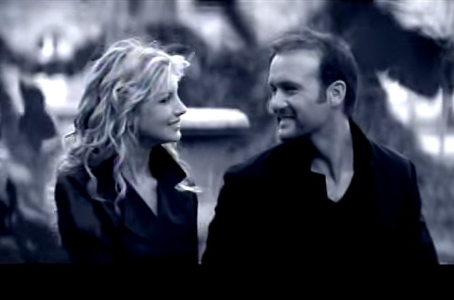 "Faith Hill and Tim McGraw, ""Let's Make Love"""