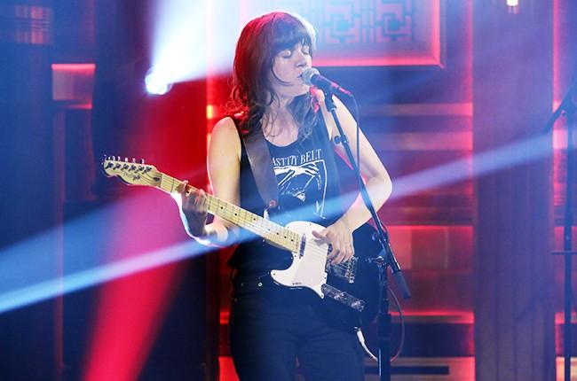 Courtney Barnett performs on The Tonight Show Starring Jimmy Fallon? on June 16, 2015.
